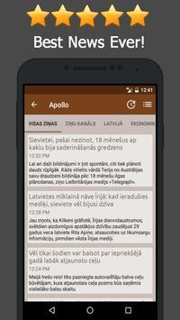 News Latvia Online apk screenshot