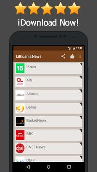 News Lithuania Online poster