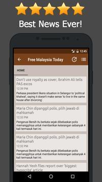 News Malaysia Online apk screenshot