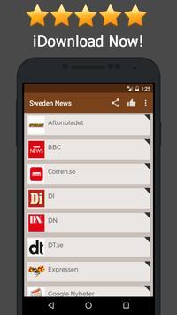 News Sweden Online poster