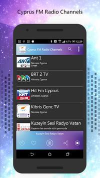 Cyprus FM Radio Channels poster
