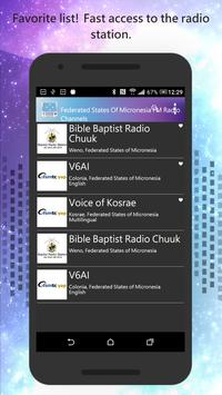 Micronesia FM Radio Channels screenshot 3
