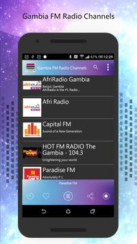 Gambia FM Radio Channels poster