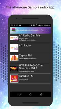 Gambia FM Radio Channels screenshot 1