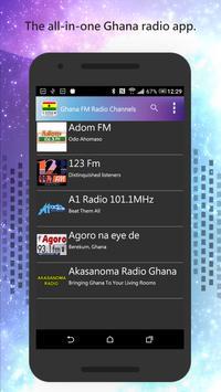 Ghana FM Radio Channels screenshot 1