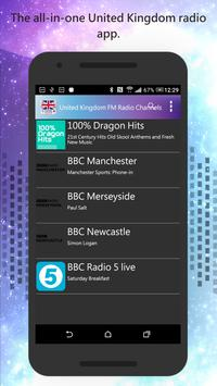 United Kingdom FM Radio screenshot 1