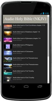 New Testamen Audio Bible Free apk screenshot
