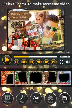 Happy New Year Video Maker With Music screenshot 3