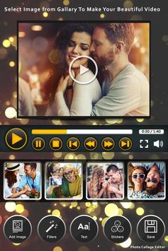 Happy New Year Video Maker With Music poster