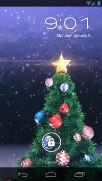 New Year Tree Live Wallpaper screenshot 1