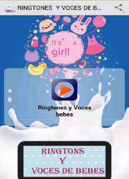 RINGTONES Y VOCES DE BEBES poster