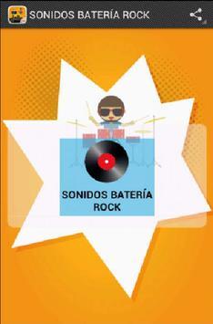 SONIDOS BATERÍA ROCK screenshot 1
