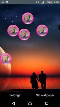 Lovers Love Live Wallpaper screenshot 2