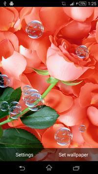 Petals Live Wallpaper screenshot 1