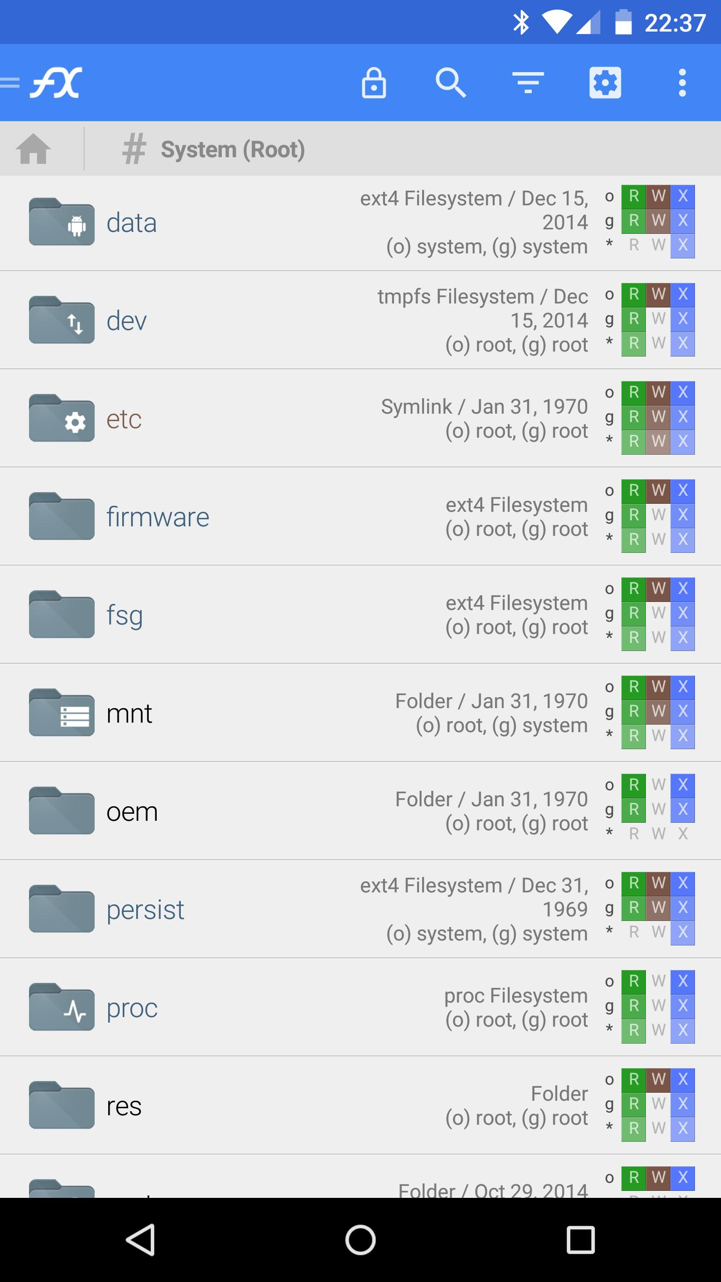 File Explorer (Root Add-On) for Android - APK Download
