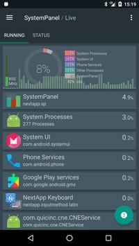 SystemPanel screenshot 1