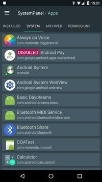 SystemPanel screenshot 5