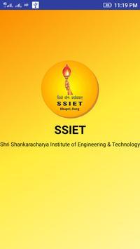 Shri Shankaracharya Institute of Engg &Tech(SSIET) poster