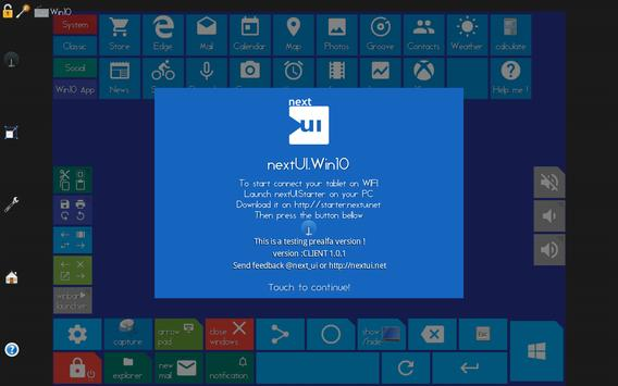 nextUI.Win10 screenshot 7