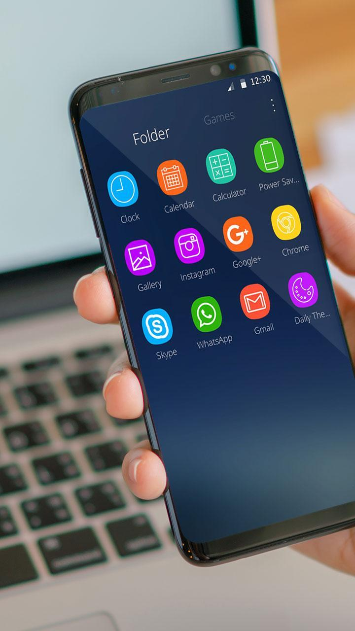 Neat Theme for Galaxy S8 for Android - APK Download