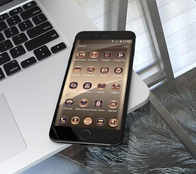Silk Gold Icons Thema Screenshot 1