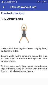 7 Minutes Workout poster