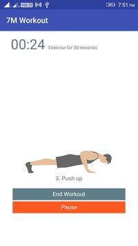 7 Minutes Workout screenshot 1