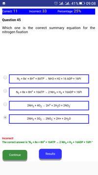 NEET BIOLOGY CH-12 QUIZ screenshot 10