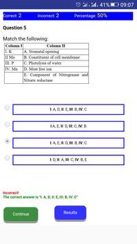 NEET BIOLOGY CH-12 QUIZ screenshot 8