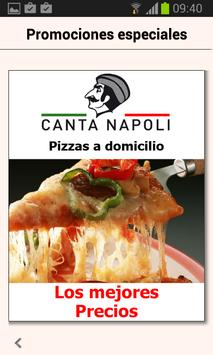 Canta Napoli - Pizzeria apk screenshot