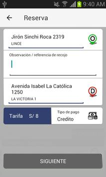 Kapital Taxi - Cliente screenshot 3