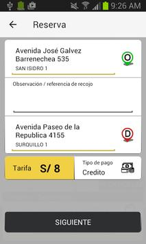 Taxi 5 Estrellas - Corporativo screenshot 3