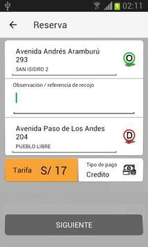 p1taxi - Cliente screenshot 4