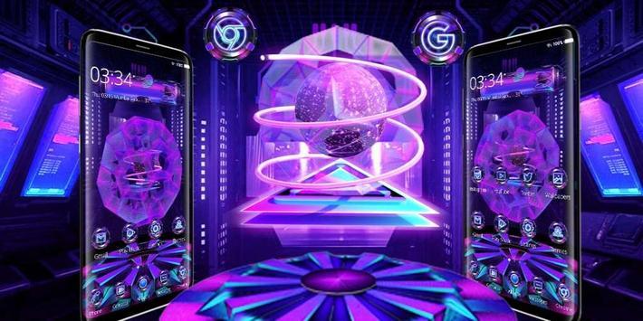 hexagon sphere tech screenshot 3