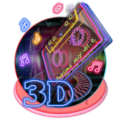 3d Awesome mix theme icon