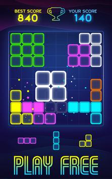 Neon Block Puzzle screenshot 2