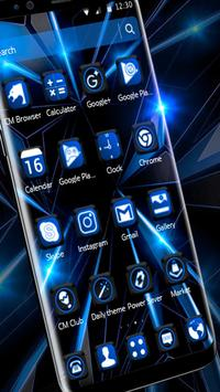 Black Blue Future Theme screenshot 8