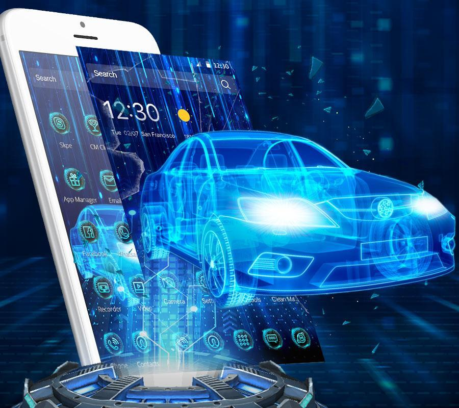 3d Neon Sports Car Launcher For Android Apk Download