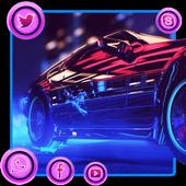 Neon Speed Theme icon