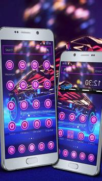 Neon Speed Theme apk screenshot