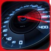 Neon Speedometer Car Theme icon