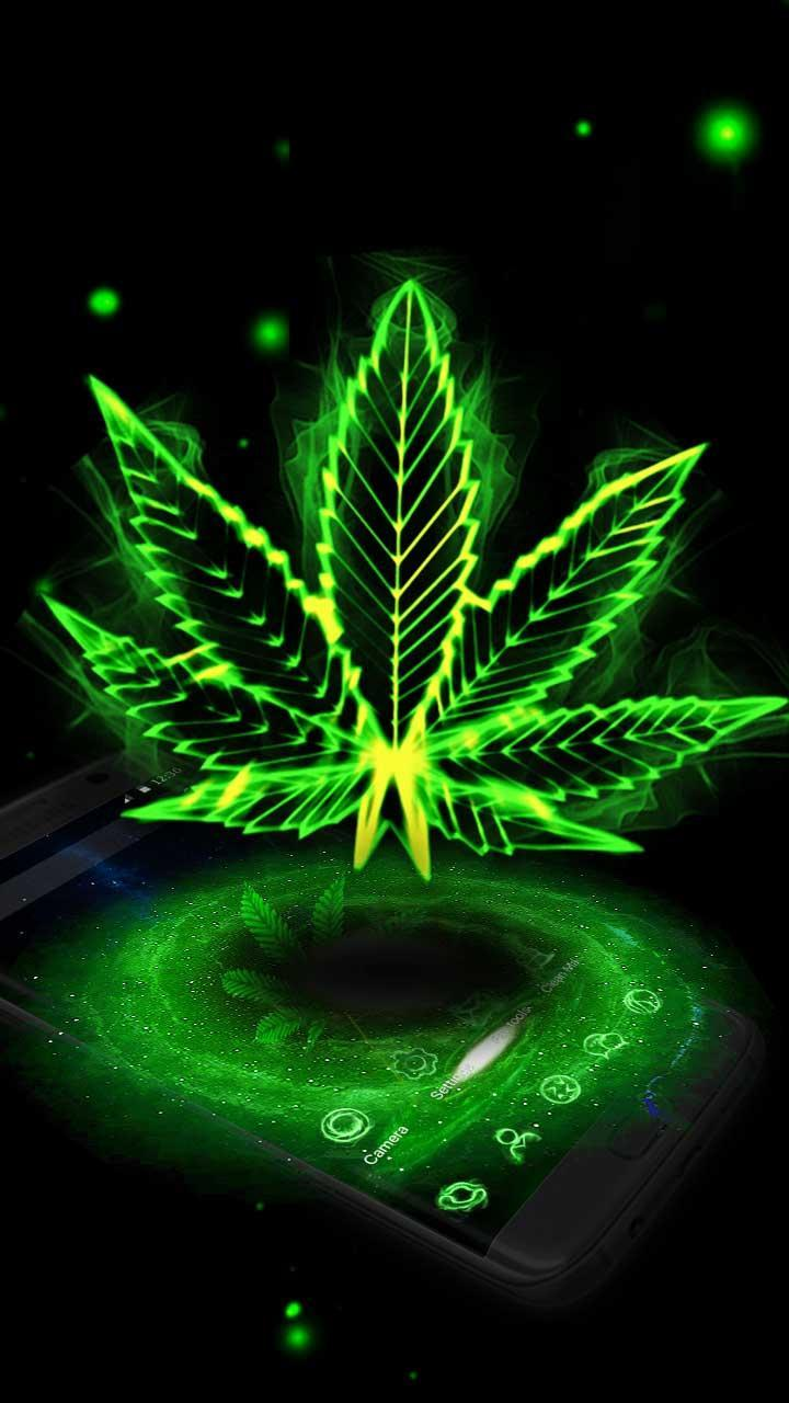 Tema 3D Galaxy Weed For Android APK Download