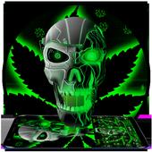 Neon Hellfire Skull icon