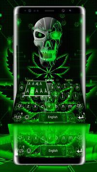 Neon Hellfire Skull screenshot 1