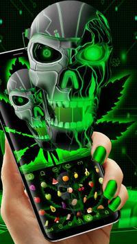 Neon Hellfire Skull screenshot 2