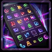 Neon Light Icon Packs (Theme) icon