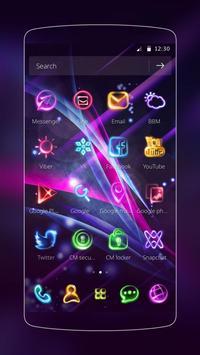 Neon Light Icon Packs (Theme) apk screenshot