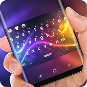 Neon Blue Light Keyboard Purple Pink Flash Theme icon