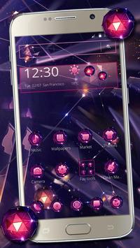 Smash Neon Diamond Theme poster