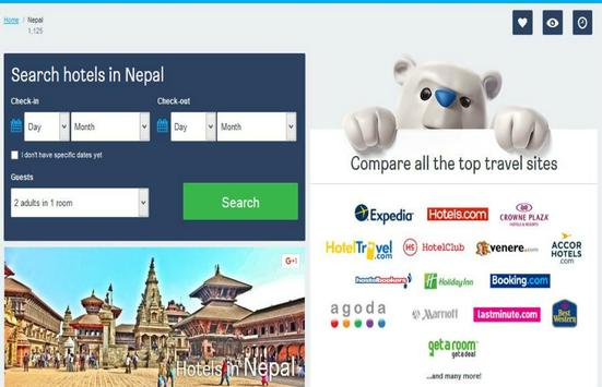 Nepal Hotel Booking poster